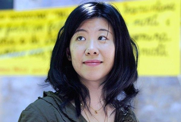 [ROME, ITALY: Famous Japanese writer Banana Yoshimoto poses for photographers in Rome 03 June 2004 during an international literature festival. AFP PHOTO/Tiziana FABI (Photo credit should read TIZIANA FABI/AFP/Getty Images)] *** [] ** TCN OUT **